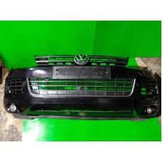 Бампер передний Volkswagen Touareg NF 2010-2014 7P рейлинги Решетка