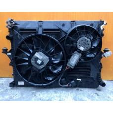 Касета радиаторов Дифузор с вентиляторами Volkswagen Touareg 2003-2009 Audi Q7 2006-20014